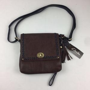 Clarks Brooke XBO Shoulder Bag / Purse Leather NWT